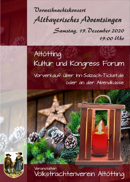 Altbayerisches Adventsingen (Vorweihnachtskonzert)