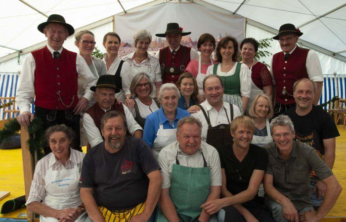 Bildgruppe Gartenfest