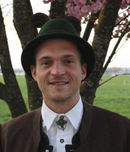 Brauchtumswart Martin Weindl