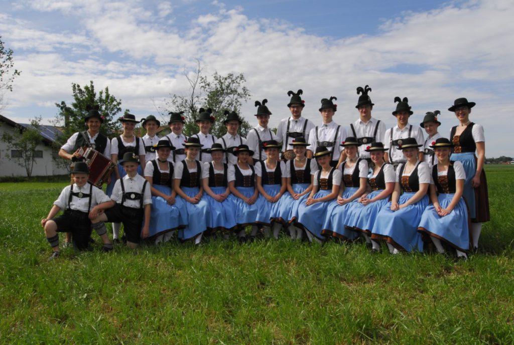 Jugend und Aktivengruppe auf dem Gartenfest 2018